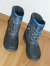 Jack Wolfskin Boys Snow King Texapore Stiefel Schuhe Gr. 32 brilliant blue NEU