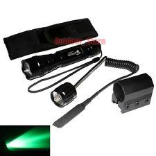 UltraFire 501B CREE Green light LED 1Mode Tactical Flashlight + Holster Mount