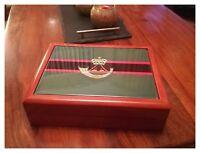 The Rifles Regiment premium military medals and memorabilia box, Great Gift