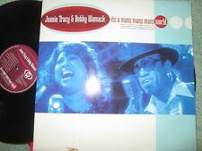 "Jeanie Tracy & Bobby Womack It's A Man's Man's Man's World UK Vinyl 12"" Single"