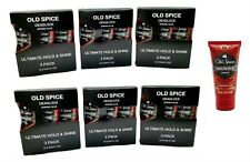 6 BOXES Old Spice Deadlock Spiking Glue 3ct/Box Travel .84 Oz Ea Total 18 Tubes