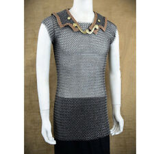 chain mail butted roman lorica hamata medium size medieval hamata