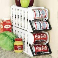 Can Food Storage Kitchen Canned Goods Rack Holder Shelf Pantry Cabinet Organizer