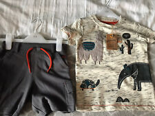 boys shorts tshirt sets