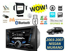 Fits NISSAN MURANO 2003-2007 BLUETOOTH STEREO KIT CD USB AUX MP3