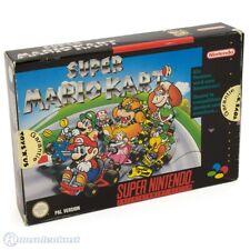 Nintendo SNES Spiel - Super Mario Kart mit OVP sehr guter Zustand