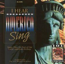 101 Strings : I Hear America Sing CD BRAND NEW SEALED  #34