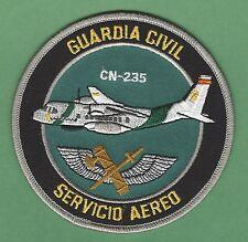 SPAIN GUARDIA CIVIL NATIIONAL POLICE SERVICIO AEREO CN-235 AIRCRAFT PATCH