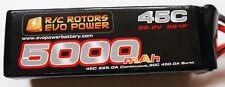 R/C Rotors Evo Power 5,000mah 6s  Lipo align trex logo  600 700  helicopter