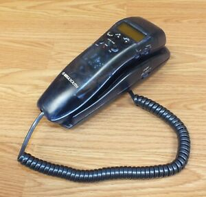 Genuine Bellsouth (8801X) Clear Blue Corded Home / Desk Top Slim Telephone
