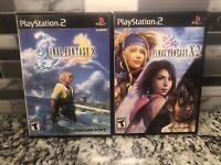 Final Fantasy X & Final Fantasy X-2 Bundle (Sony PlayStation 2) PS2 CIB Tested
