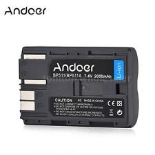 Andoer BP-511/A 2000mAh Li-ion Battery for Canon EOS 5D 50D 40D 30D D60 60D 300D