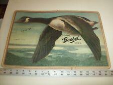 3 D Goebel Beer Detroit Michigan Beer Advertising Cardboard Sign Canada Goose