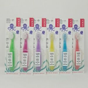 Radius Totz Brush 18 Months+ Extra Soft Tooth Brush For Toddlers Pack of 6