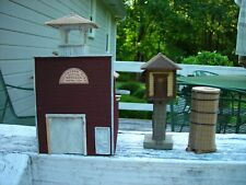 Lot of 3 HO scale structures