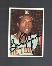 Ben Oglivie Detroit Tigers 1975 SSPC Autographed Baseball Card W/Our COA