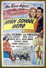 """WW II & BIG BAND ERA  -- """"HIGH SCHOOL HERO"""" - Frankie DARRO / Freddie Slack orch"""