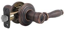 Weiser Ashfield Rustic Bronze SmartKey Entry Door Lever