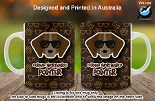 German Shorthaired Pointer Hipster Dog Cute Cool Tea Coffee Mug Christmas gift