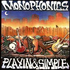 MONOPHONICS - PLAYIN & SIMPLE   CD NEUF