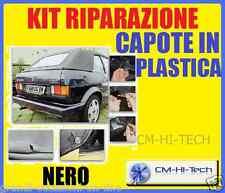 KIT !! PER RIPARAZIONE RIPARA RIPARATORE CAPOTE CAPPOTTE IN PLASTICA AUTO CABRIO