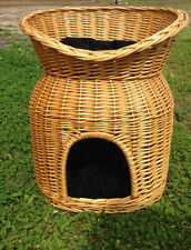Large Cattery High Two Storey Cattery Pet Bed With cushion Pet Supplier Cat Bed