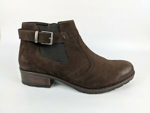 Ara Luftpolster Brown Leather Ankle Boots Uk 7 Hardly Worn