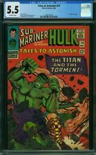 Tales to Astonish #79 CGC 5.5 -- 1966 -- Hulk battles Hercules #2008174014