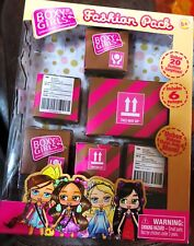 BOXY GIRLS FASHION PACK 6 SURPRISE BLIND BOXES SHOES, BAGS, MAKEUP, MORE NEW