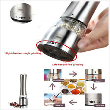 Stainless Manual Pepper Salt Spice Mill Grinder Kitchen Cook Tool  Fine / Corse