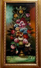 Virginio Cicala - Olio su tela- Fiori fiamminghi