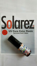 "SOLAREZ    "" UV CURE COLOR RESIN ""   Red Oxide  5- gram  NEW"