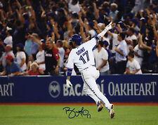 Toronto Blue Jays Ryan Goins Signed MLB Baseball 8x10 Photo Autograph Picture