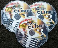 PATSY CLINE 3 CDG DISCS CHARTBUSTER HITS COUNTRY KARAOKE 50 SONGS CD+G 5104