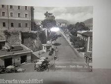 Vecchia cartolina foto d epoca di pontecorvo viale porta pia case palazzi