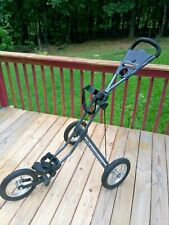 New listing Sun Mountain Speed Cart - Three Wheel Push/Pull Collapsible Cart - Charcoal Gray