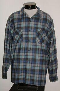 PENDLETON Mens 2XL XXL Board shirt JAC Beach Boys 100%WOOL Button-up shirt