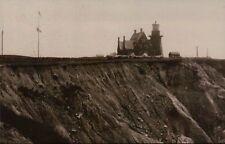 Block Island Southeast Lighthouse Rhode Island Light Ri, Gothic Tower - Postcard