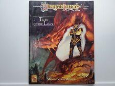 TSR Advanced Dragon Lance Tales of the Lance World Boob of Ansalon