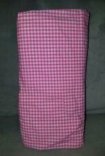 Pottery Barn Kids Gingham Crib Sheet Pink New
