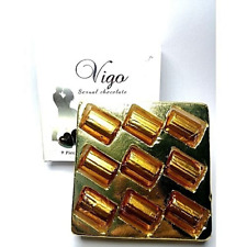 Vigo chocolat force sexuelle au ginseng 9 pièces pour homme