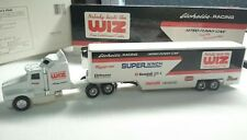ERTL KENWORTH T600A TRACTOR TRAILER NITRO FUNNY RACING TRANSPORTER MINT 1:64