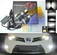 LED Kit C 80W 9003 HB2 H4 6000K White Head Light Two Bulbs High Low Beam Replace