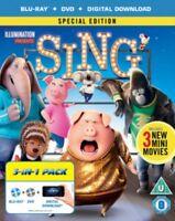 Sing Blu-Ray + DVD Nuovo (8310294)