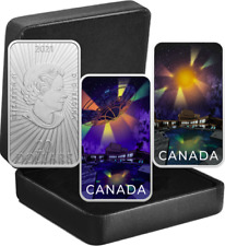 2021 UFO Montreal Incident Unexplained Phenomena $20 Silver Proof Glow-Dark Coin