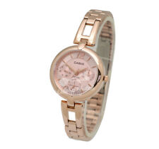 -Casio LTPE401PG-4A Ladies' Metal Fashion Watch Brand New & 100% Authentic