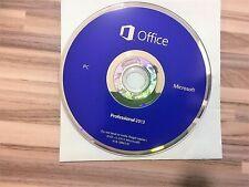 DVD📀 hologramme Microsoft® Office™ 2013 Professional sans licence pour PC
