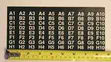AP Automatic Products snack machine label set for selections 4600 6600 7600 113