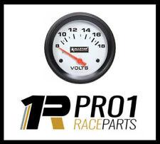 """Allstar Volt Metre Meter Speedway Drag Car Race Car Rally 2 5/8"""" 8-18 Volts"""