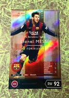 Panini soccer FootistaVer Lionel Messi 14-15 Refractor FC Barcelona Sticker WCCF